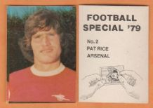 Arsenal Pat Rice Northern Ireland 2
